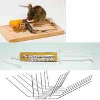 Εντομοκτόνα-Ποντικοφάρμακα απωθητικά πουλιών μυγοπαγίδες ποντικοπαγίδες κτλ